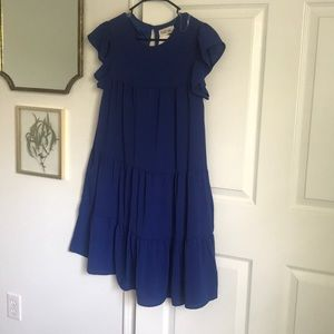 Peach Love dress NWT